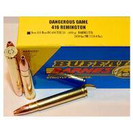 Buffalo Bore Dangerous Game 416 Remington 400 Grain Barnes TSX Rifle Ammo (20)