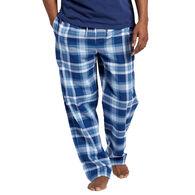 Life is Good Men's Sleepy Blue Plaid Classic Sleep Pant