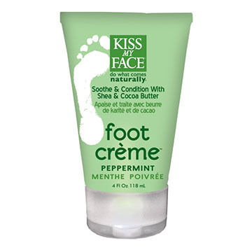 Kiss My Face Peppermint Foot Creme