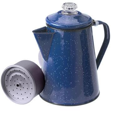 GSI Outdoors Enamelware 8 Cup Coffee Percolator