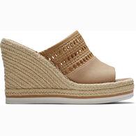 TOMS Women's Monica Mule Wedge Heel Sandal