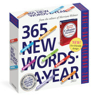 365 New Words-A-Year 2021 Page-A-Day Calendar by Merriam-Webster
