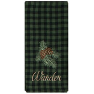 Kay Dee Designs Woodland Wander Embroidered Tea Towel