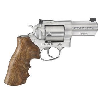 Ruger GP100 Hogue Walnut 44 Special 3 5-Round Revolver
