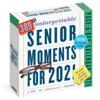 389 Unforgettable Senior Moments 2021 Page-A-Day Calendar by Tom Friedman