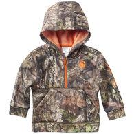 Carhartt Infant Boy's Camo Half-Zip Sweatshirt