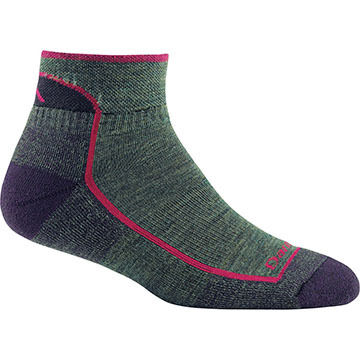 Darn Tough Vermont Womens Quarter Cushioned Sock