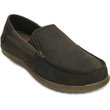 Crocs Mens Santa Cruz 2 Lux Leather Loafer