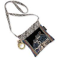 Sun N Sand Women's Polka Dot Gatos Crossbody Handbag