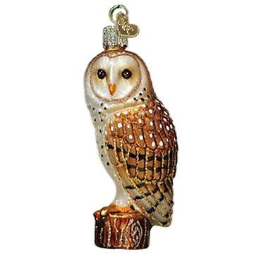 Old World Christmas Barn Owl Ornament