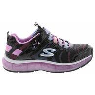 Skechers Girls' S Lights: Light Sparks Athletic Shoe