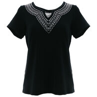 Aventura Women's Jess Short-Sleeve Top
