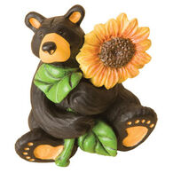 Big Sky Carvers Sunflower Bear Figurine