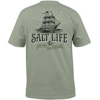 Salt Life Men's Back From Whence We Came Short-Sleeve T-Shirt