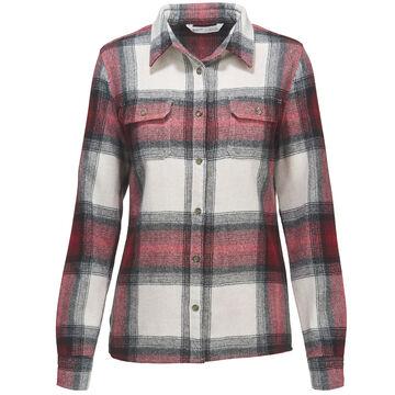 Woolrich Womens Bering Wool Plaid Long-Sleeve Shirt