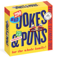 290 Bad Jokes & 75 Punderful Puns 2022 Page-A-Day Calendar by Workman Publishing