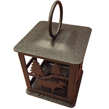 Sherwood Products Moose Candle Lantern
