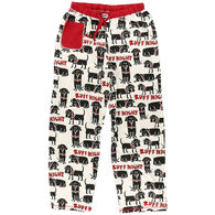 Lazy One Women's Ruff Night Dog PJ Pant