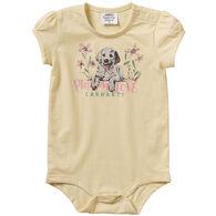 Carhartt Infant Girl's Graphic Short-Sleeve Bodyshirt