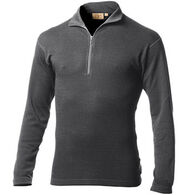 Minus 33 Men's Midweight Merino Wool Quarter-Zip Baselayer Top