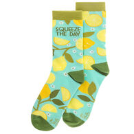 Karma Women's Lemon Tree Crew Sock