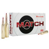 Hornady 6mm Creedmoor 108 Grain ELD Match Rifle Ammo (20)
