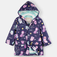 Hatley Girls' Cool Phones Classic Rain Jacket