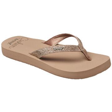 Reef  Womens Star Cushion Flip Flop Sandal