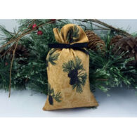 Moosehead Balsam Fir Gold Pine Cone Bag