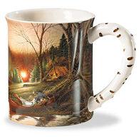 Wild Wings Morning Solitude Sculpted Mug