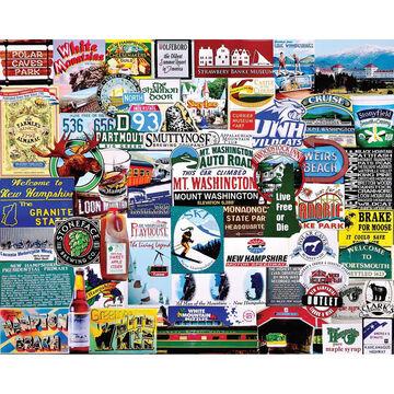 White Mountain Jigsaw Puzzle - I Love New Hampshire