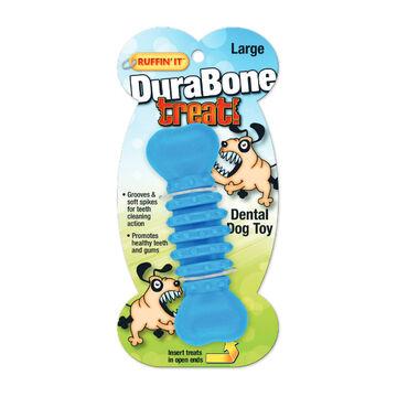 Ruffin It DuraBone Treat Dental Dog Toy