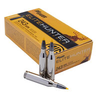 SIG Sauer Elite Hunter Tipped 243 Winchester 90 Grain Yellow Tip Rifle Ammo (20)