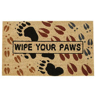 Park Designs Wipe Your Paws Doormat