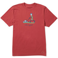 Life is Good Men's Lawnmower Jake Vintage Crusher Short-Sleeve T-Shirt
