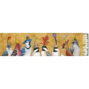 Paperproducts Design Chickadee Sisters Long Matchbox