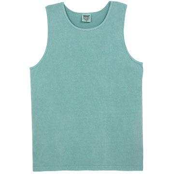 Alpha Mens Pigment-Dyed Cotton Tank Top