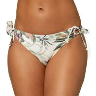O'Neill Women's Mina Aloha Floral Side Tie Full Bikini Bottom