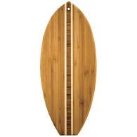 Totally Bamboo Li'l Surfer Cutting & Serving Board