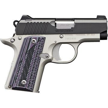 Kimber Micro Carry Advocate Purple 380 ACP 2.75 7-Round Pistol