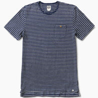 Reef Men's Sail Striped Crew Neck Short-Sleeve Shirt
