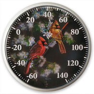 Wild Wings Cardinal Outdoor Thermometer