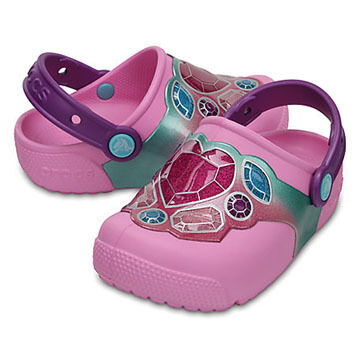 Crocs Boys' & Girls' Fun Lab Lights Clog