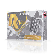 """Rio Royal Buck 12 GA 2-3/4"""" 27 Pellet #4 Buckshot Ammo (5)"""