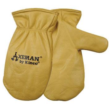 Kinco Men's Axeman Leather Mitt
