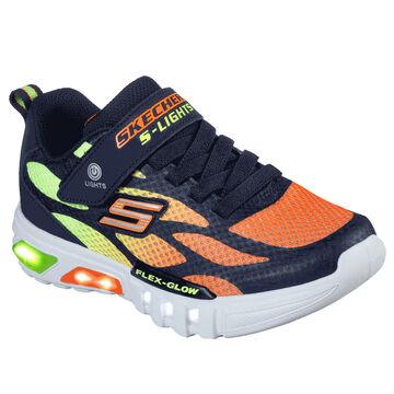 Skechers Boys S Lights: Flex-Glo - Dezlo Athletic Shoe