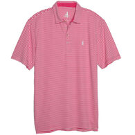 johnnie-O Men's Bunker Prep-formance Striped Pique Polo Short-Sleeve Shirt