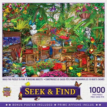 Leanin Tree Jigsaw Puzzle - Garden Hideaway