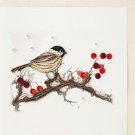 Quilling Card Bird And Berries Everyday Card