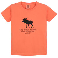 Original Design Youth Kittery Trading Post Black Moose Short-Sleeve T-Shirt